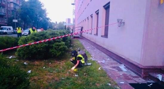Emissora é atacada por lança-granadas
