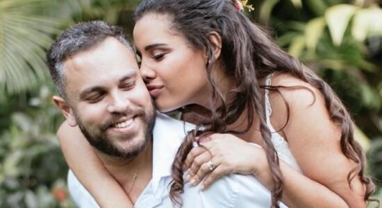 Orlando Costa e Alinne Araújo
