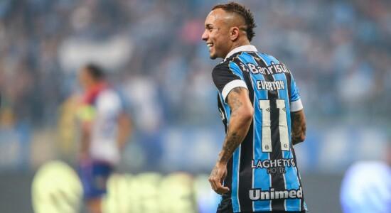 Grëmio não quer entrevistas de Everton Cebolinha