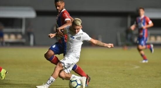 Santos e Bahia empataram