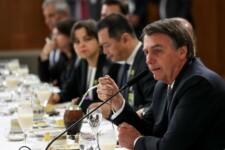 Presidente Bolsonaro promove café da manhã com ministros e jornalistas