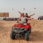 Gabriela Rocha e Leandro Moreira curtem viagem em Dubai