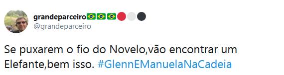 Internautas fizeram campanha pedindo a prisão de Glenn Greenwald e Manuela D'ávila