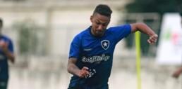 Botafogo anuncia a contratação do atacante Biro Biro, ex-São Paulo
