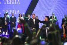 Presidente Jair Bolsonaro em Celebração Internacional 2019: Conquistando pelos olhos da Fé, promovido pela Igreja Sara Nossa Terra