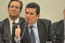 Ministro da Justiça e Segurança Pública, Sergio Moro, durante audiência pública na Comissão de Constituição e Justiça (CCJ) da Câmara dos Deputados
