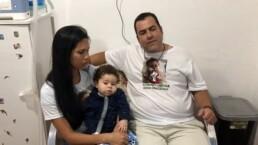 Família de João Miguel pede doações para o filho