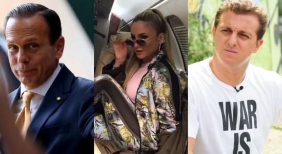 João Doria, Claudia Leitte e Luciano Huck estão entre nomes divulgados em lista de financiamento  de jatinhos pelo BNDES