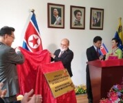 Venezuela inaugura embaixada na Coreia do Norte