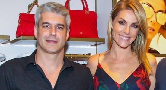 Ana Hickmann e Gustavo Correa