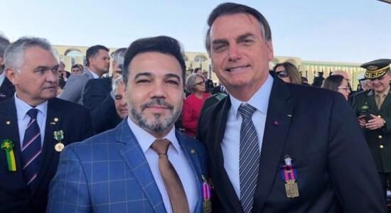 Marco Feliciano e Jair Bolsonaro