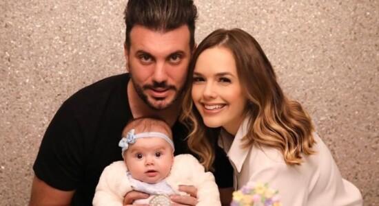 Thaeme, Fábio Elias e a pequena Liz