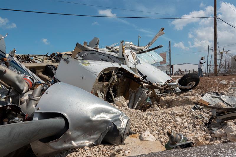 Estragos causados pelo Dorian nas Bahamas