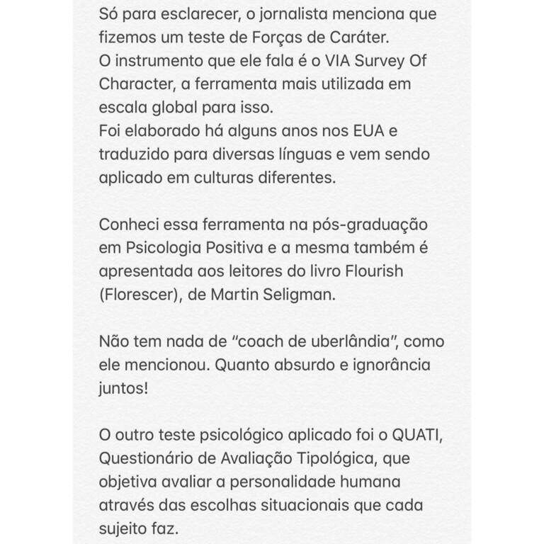 Heloísa Bolsonaro se posicionou sobre o caso nas redes sociais