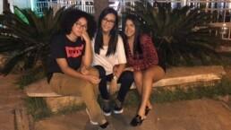 Lorraine, Simone e Raiane