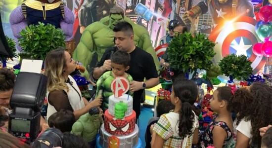 Bruna Karla celebrou aniversário de 6 anos do filho e também anunciou gravidez
