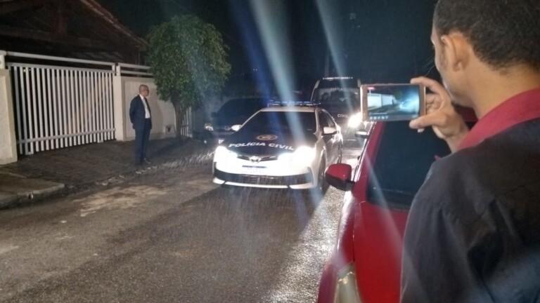 Polícia faz a reconstituição da morte de Anderson do Carmo