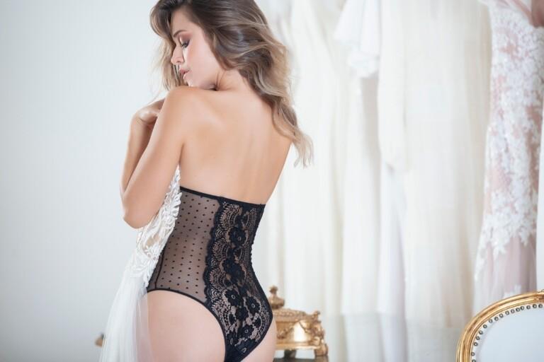 Uma linda coleção de lingeries para noivas