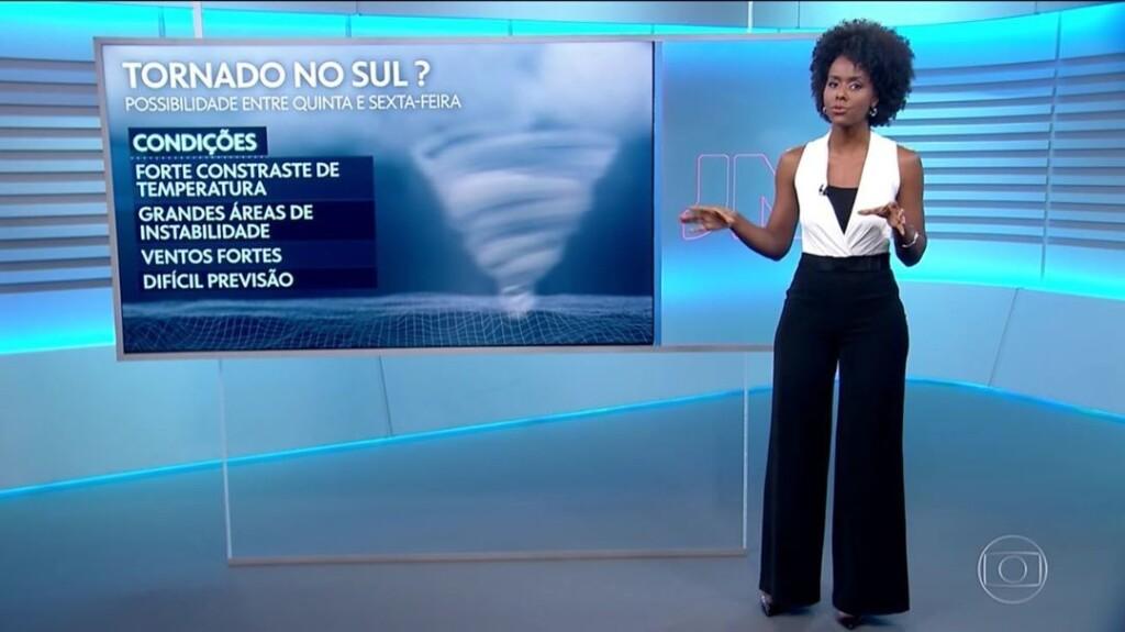 Globo Escolhe A Substituta De Maju Na Previsão Do Tempo