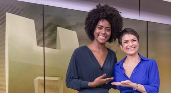 Sandra Annenberg e Maria Julia Coutinho