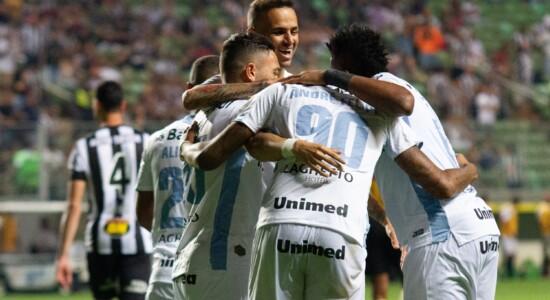 Partida entre Atlético-MG e Grêmio pelo Brasileiro