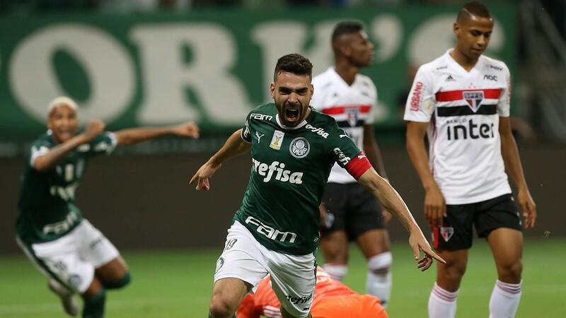 Palmeiras venceu o São Paulo