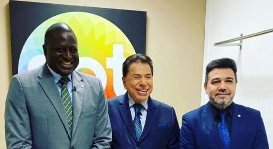 Helío Lopes, Silvio Santos e Marco Feliciano