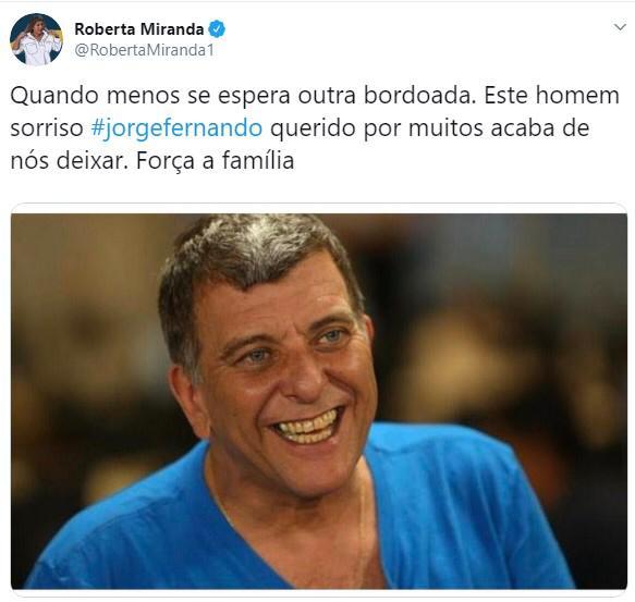 Aos 64 anos, morre o ator e diretor Jorge Fernando