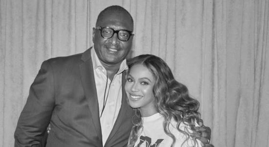 Beyoncé e seu pai, Mathew Knowles