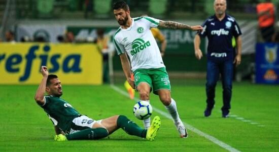 Palmeiras venceu a Chapecoense