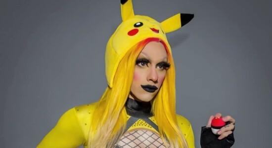 Estanislao Fernández é drag queen, youtuber e cosplayer