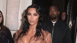 Kanye West desaprovou vesido usado em maio por Kim Kardashian