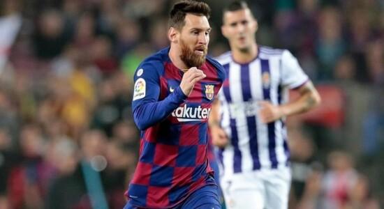 Messi ultrapassou CR7 em número de gols