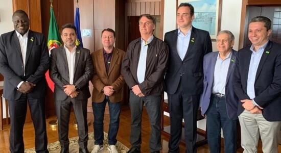 Comitiva de Bolsonaro em Lisboa