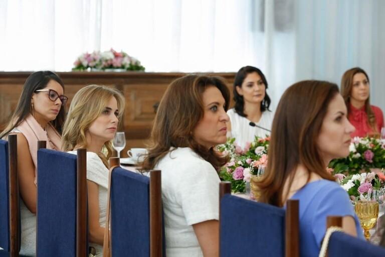 Michelle Bolsonaro se reuniu com primeiras-damas de estados brasileiros