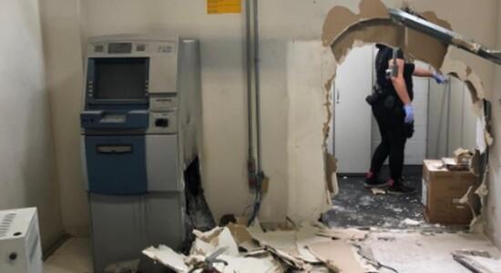 Bandidos roubaram caixa eletrônico na emissora