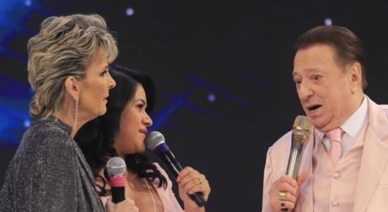 Ludmila Ferber emociona convidados do Programa Raul Gil