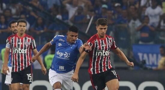 Cruzeiro vence o São Paulo e acaba com jejum de 9 jogos
