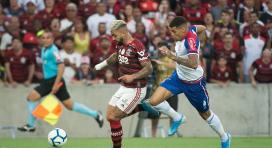 Flamengo derrota o Bahia