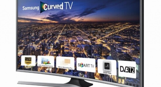 Smart TV curva da Samsung