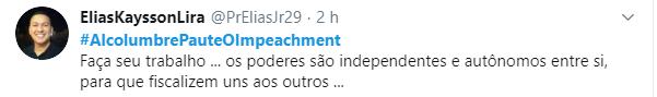 Internautas querem o impeachment de Gilmar Mendes