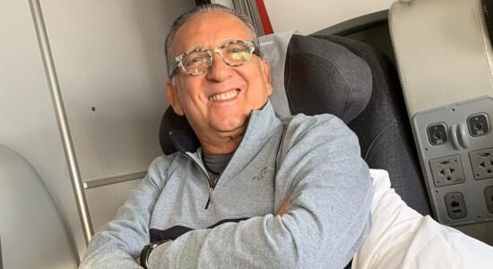 Galvão Bueno passou mal e não vai narrar final da Libertadores