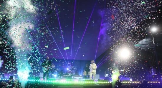 Hillsgon United cantou clássicos e também canções da turnê The People Tour