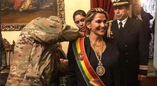 A boliviana prometeu lutar por uma nação livre