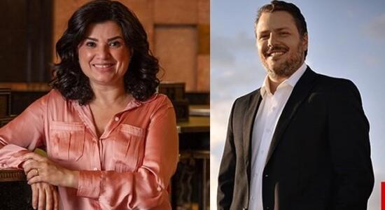 Raquel Landim e Caio Junqueira