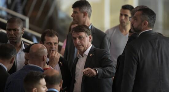 Bolsonaro vê Flamengo no Maracanã