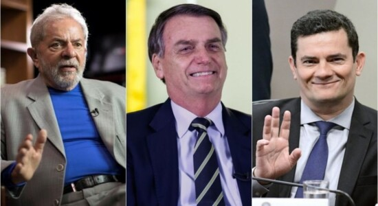 Lula perderia para Bolsonar e Moro se eleições fossem hoje