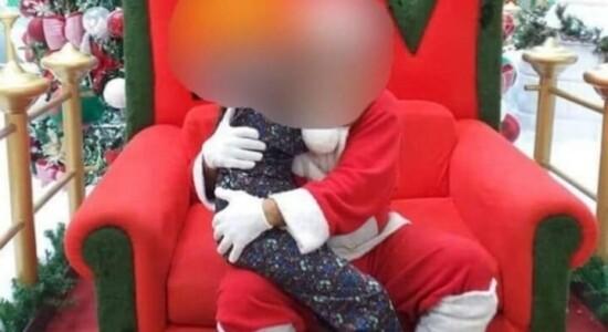 Mãe denunciou suposto assédio de Papai Noel de shopping contra sua filha