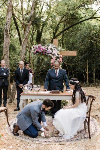 Marcela Taís e Samuel Antunes se casaram