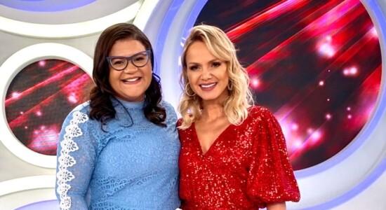 Midian Lima grava especial de Natal no Programa da Eliana